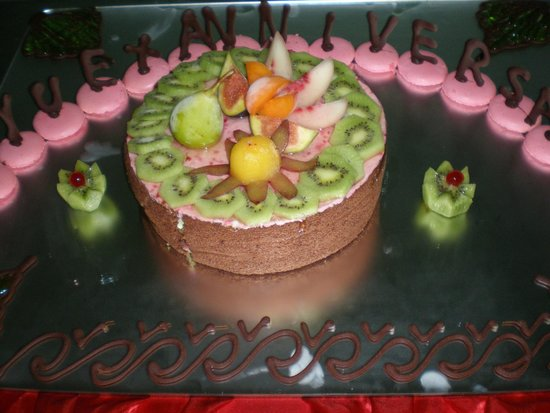 Hasdrubal Thalassa & Spa : mon gâteau d'anniversaire