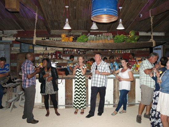 Shanti Maurice - A Nira Resort: Dinner at the Rum Shed