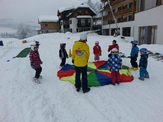 Kinderhotel Ramsi Erlebniswelt: ski klas 2014