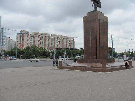 Park Inn by Radisson Pribaltiyskaya St Petersburg: Вид с отеля