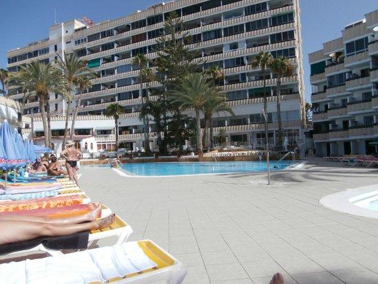 Koka Apartments: poolside