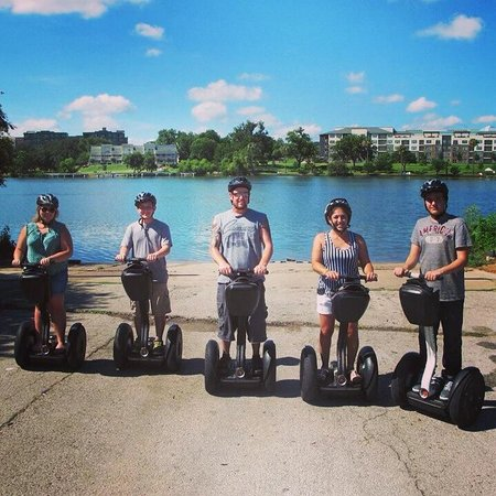 Holiday Inn Austin-Town Lake: Segway tours are offered right next to the hotel at http://www.glidingrevolutjon.com