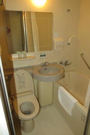 Washington Hotel Plaza: Insuite bathroom
