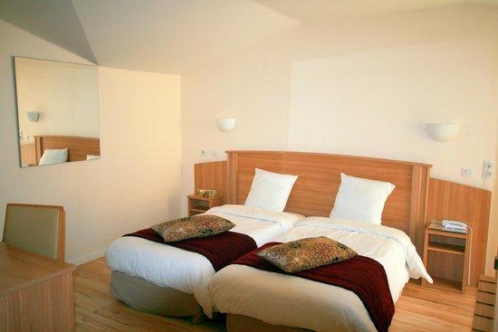 Hotel Le Grand Turc : chambre confort + twin