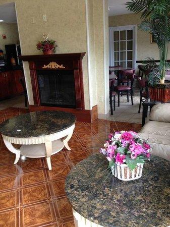 Days Inn Norton VA: Lobby area
