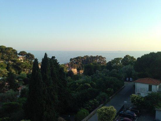 Hotel Ristorante Cristallo : Panorama view from the balcony