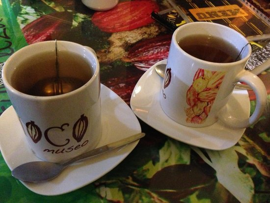 Choco Museo: delicious chocolate tea from the cafe