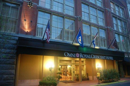 Omni Royal Orleans: Notre arrivée