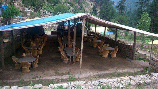 Kinner Camp Sangla: dining area