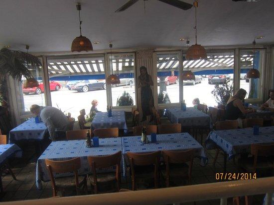 Ach Niko Ach: vue intérieure du restaurant