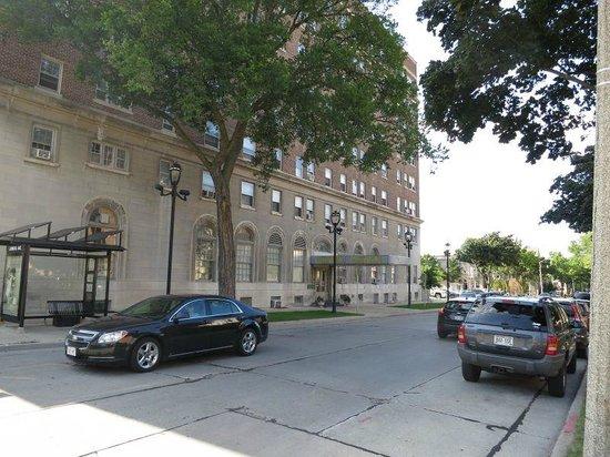 Astor Hotel Side Enterance