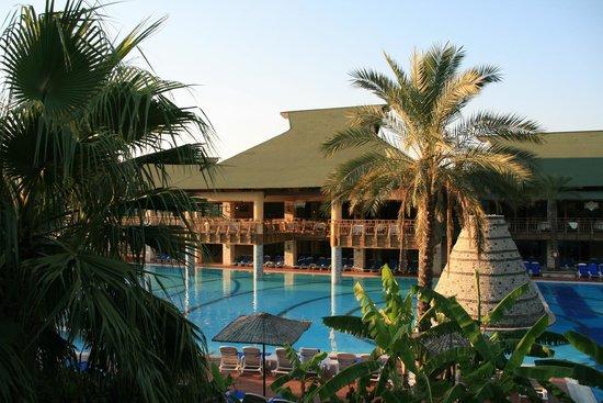 Aquafantasy Aquapark Hotel & SPA: vue de la chambre