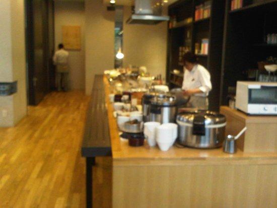 Royal Park Hotel The Nagoya: Breakfast buffet at Monsieur Itoh