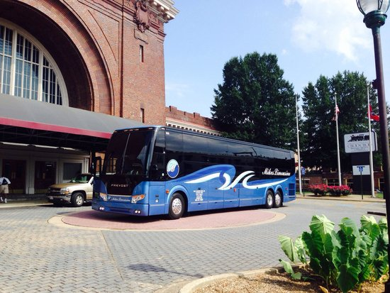 Chattanooga Choo Choo: Bus friendly.. They even have a dump station for motor coaches