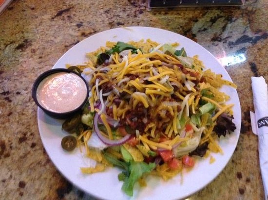 T C Hooligans : TC Hooligan's - taco salad