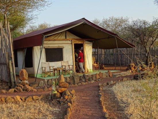 Isoitok Camp - Manyara : The tent