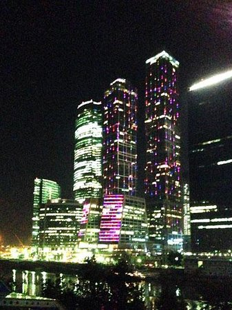 Observation Deck in the Moscow-City: 2