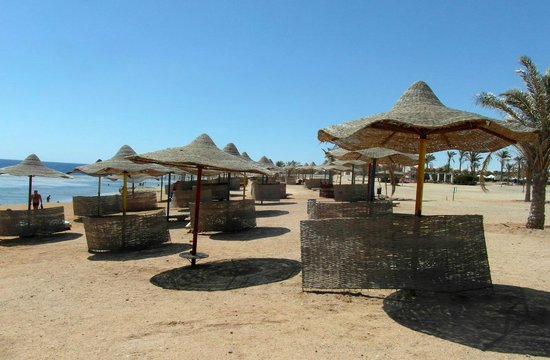 The Three Corners Sea Beach Resort : Bord de mer