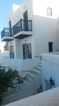 Mina Studios: Vue depuis notre terrasse