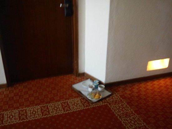 Hotel Montechoro: Bandeja de desayuno