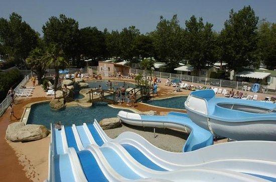 Camping les Peupliers : Parc aquatique