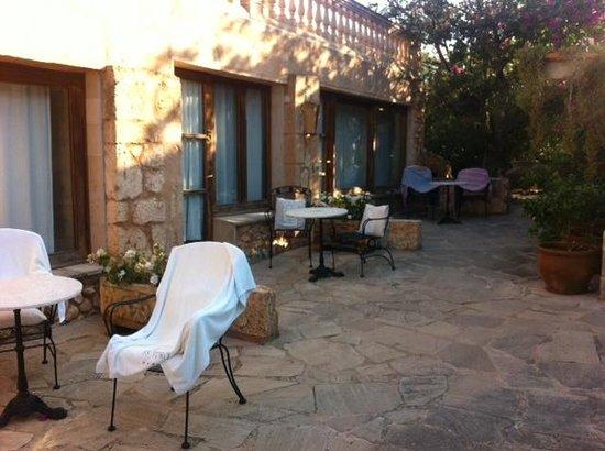Es Turo Finca Hotel Rural: The so-called private Terrace