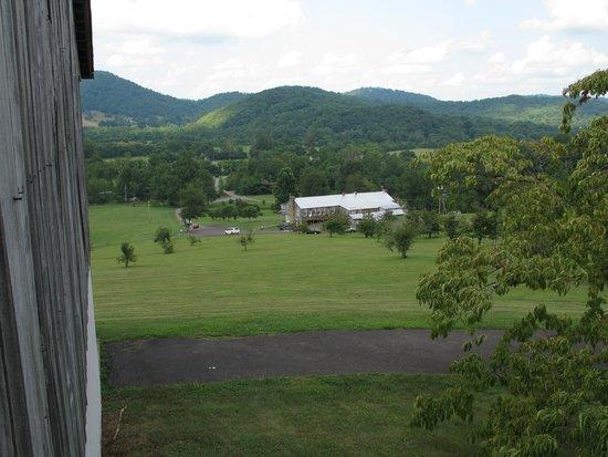 Graves Mountain Lodge: Udsigt