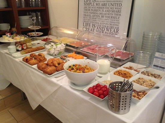 Hotel SPIESS & SPIESS Appartement-Pension: Fantastic Breakfast Buffet