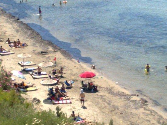 Guzelcamli, ตุรกี: Icmeler Beach,Kusadasi, Milli Park