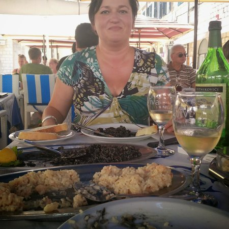 Kamenice: first lunch