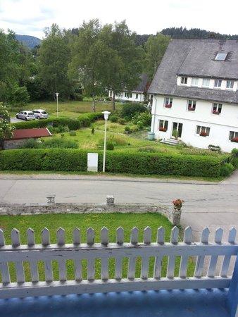 Wald und See : vista dalla mansarda