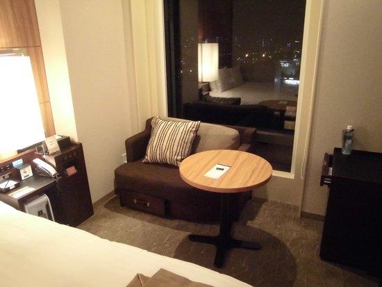Solaria Nishitetsu hotel Kagoshima: 部屋