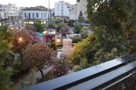Apollo Hotel : Vista dal balcone