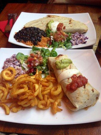Fiesta Latina: Chicken Burrito