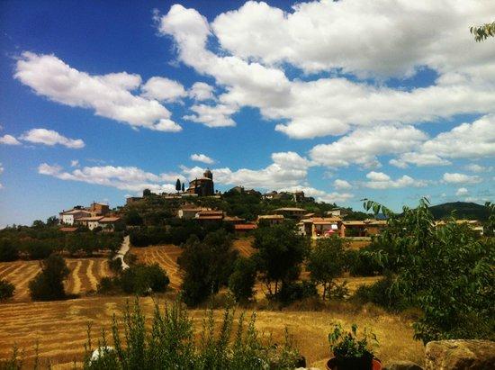 LA ERA DE CONTE, Hotel, Restaurante: View of Bierge from hotel terrace