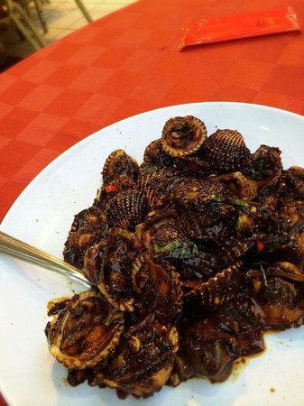 Suang Tain Seafood Restaurant: Stir fried clam.