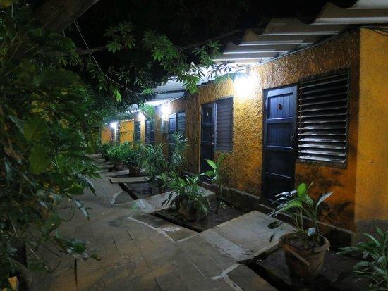 Hotel Santa María: Extérieur des chambres