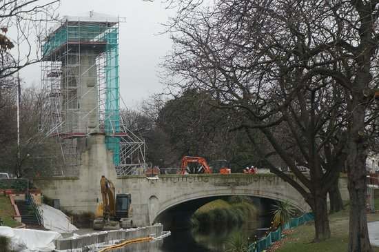 Bridge of Remembrance: current state of the bridge
