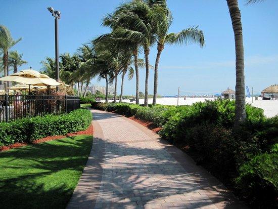 Marco Island Marriott Beach Resort, Golf Club & Spa: walk along the beach and hotel property