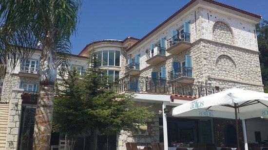 Imren Han Hotel & Mansions: Havuz başından otelin ve odaların görünümü