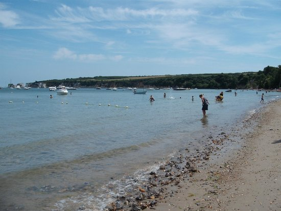 Studland beach and Nature Reserve: Centre of South beach, looking right