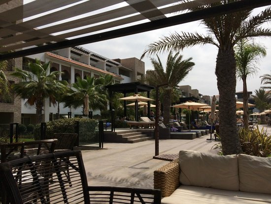 Hotel Riu Palace Tikida Agadir: pool bar sitting area