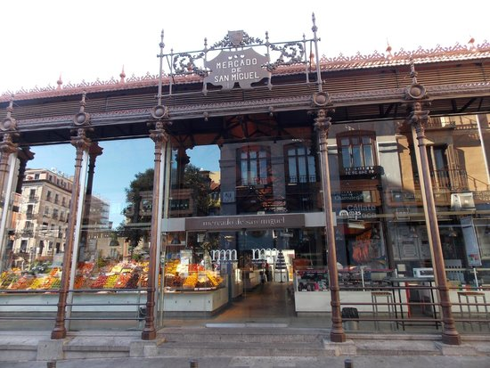 Mercado San Miguel: esterno del mercato