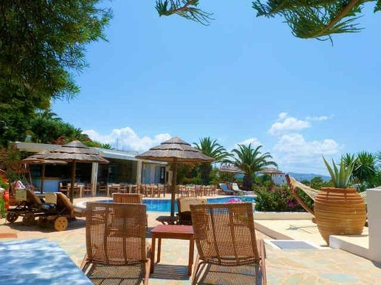 Kavos Boutique Hotel Naxos: Lazy Lunches