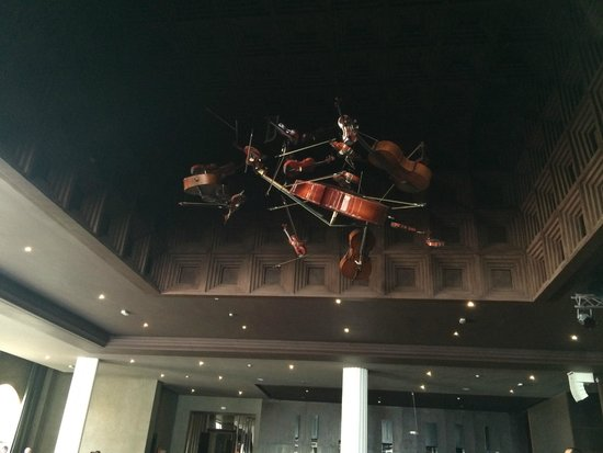 Hotel Riu Palace Tikida Agadir : ceiling decor