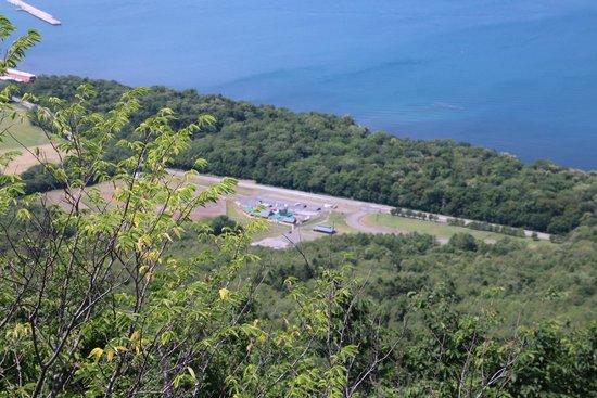 Michinoeki Saroma Lake: 展望台から