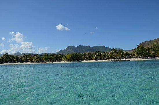 Paradis Beachcomber Golf Resort & Spa: La plage