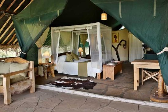 Kibo Safari Camp : The Tent