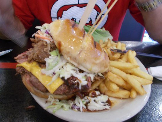 Cruisers Cafe 66: burger