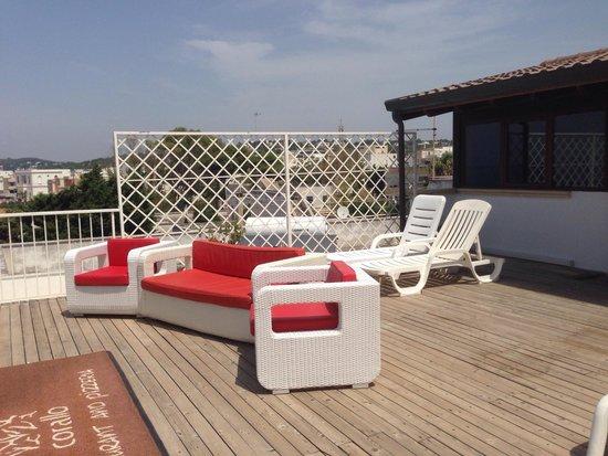 Terrazza della suite posta all 39 ultimo piano picture of - Hotel corallo santa maria al bagno ...